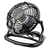 oenbopo USB Desktop Mini Fan Portable PC Cooler Cooling, Mini Super Mute Laptop Computer PC USB Fan Cooler Cooling Desktop Small Fan (Black)