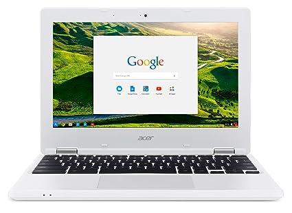 """Acer Chromebook CB3-131-C3US 113 11"""" Blanc (Intel Celeron, 2 Go de RAM, SSD 32 Go Chrome OS)"""