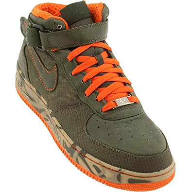 ... Nike Air Force 1 25th High Mens Running Shoe Black Brown ...