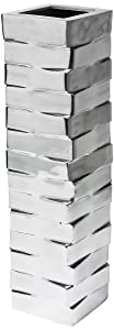 Kare 65 cm Stack Aluminium Vase       Customer reviews and more information