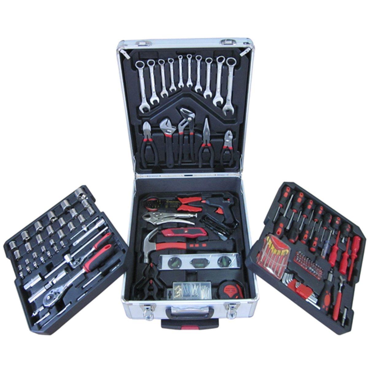 Werkzeug Werkzeugkoffer Werkzeugkiste Werkzeugkasten 226tlg + ALU KOFFER NEU  BaumarktKundenbewertung und weitere Informationen