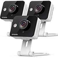 3-Pack Zmodo 720p HD WiFi Wireless Home Security Camera System