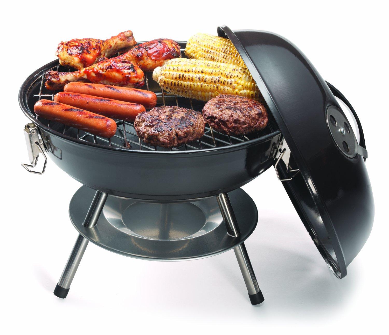 cuisinart ccg 190 portable charcoal grills 14 inch ebay. Black Bedroom Furniture Sets. Home Design Ideas