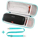 COMECASE Hard Carrying Case Compatible JBL Charge 3 JBLCHARGE3BLKAM Waterproof Portable Wireless Bluetooth Speaker (Color: Galaxy, Tamaño: JBL Charge 3)
