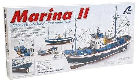Artesania Latina 1/50Marina II Eau Voitures 20506