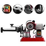 Mophorn Circular Saw Blade Sharpener Rotary Angle Mill Grinding Sharpening Machine 125mm 370w Saw Blade Sharpener Machine for Carbide Tipped Saw Blade (Color: Circular Saw Blade sharpener)
