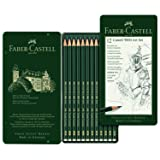 Faber-Castell 9000 Graphite Sketch Pencil Sets Art 8B - 2H set of 12 (Color: Limited Edition)