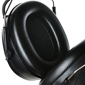 PROTEAR AM FM Radio Headphones, Noise Reduction Safety Earmuffs Compatible with MP3-NRR 25dB, Hearing Protection for Mowing Lawn(Black) (Color: Black, AM FM Radio, 2AA Batteries)