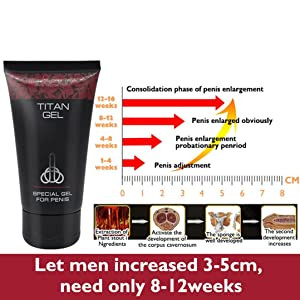 Ecosin Natural Plant-based Ingredients Male Growth Penis Extender Enlarger Increase Herbal Enlargement Essential Cream to Relieve Fatigue (Color: Yellow, Tamaño: 50ml)