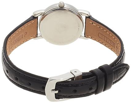 Citizen Women's EW1270-06A Eco-Drive Leather Watch 西铁城女 士光动能 手表 真皮表带-奢品汇 | 海淘手表 | 腕表资讯