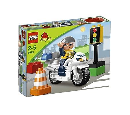 Lego Duplo Ville - 5679 - Jeu De Construction - La Moto De Police