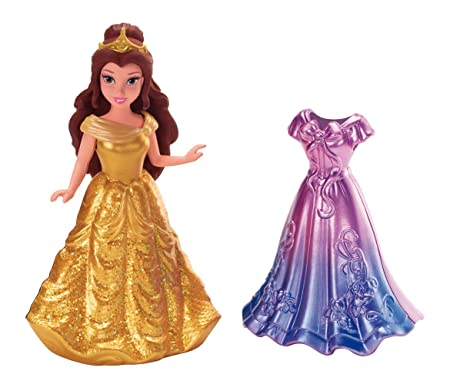 Disney Princesses - X9408 - Mini-Poupée - Mini Belle et sa Tenue