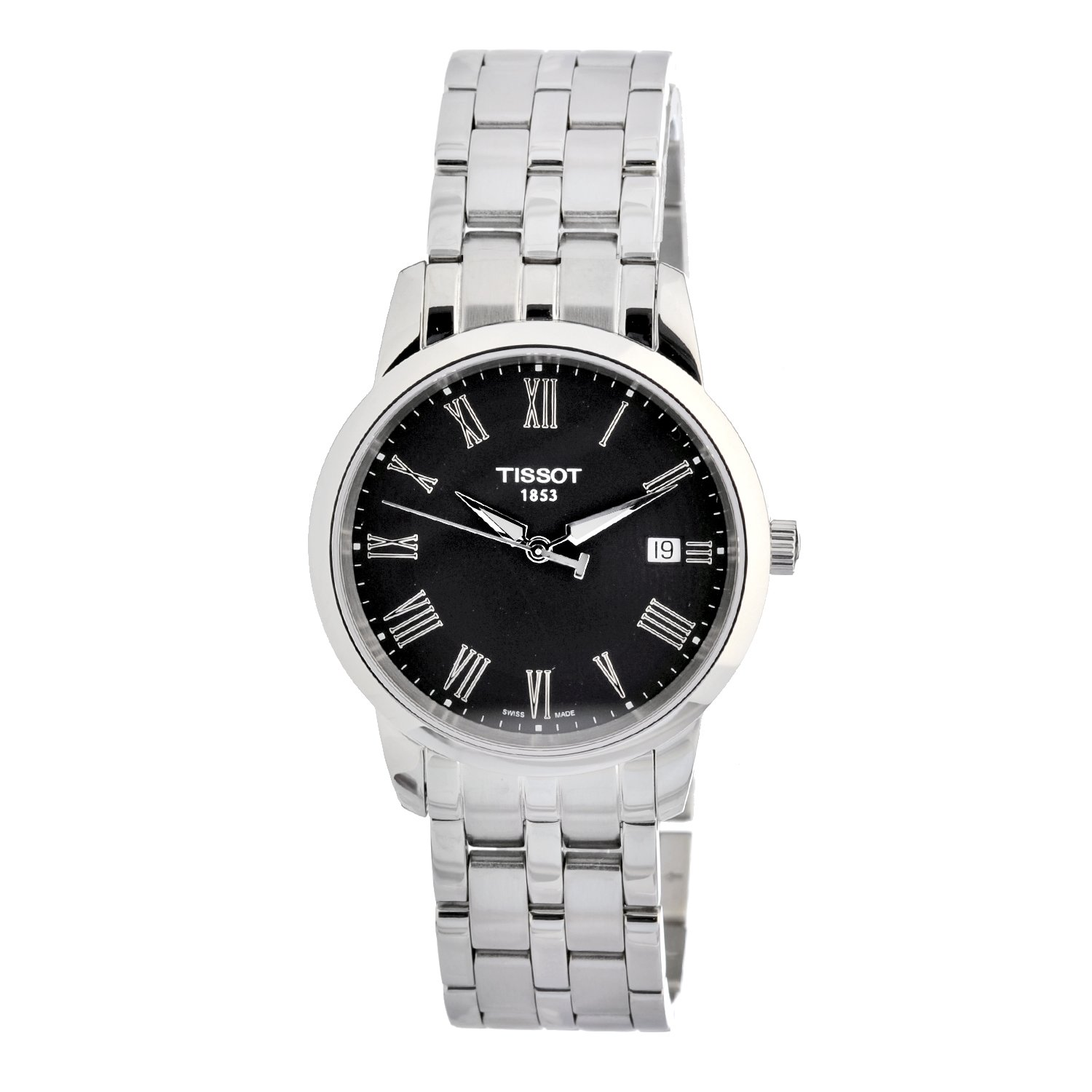 Tissot Men's T0334101105300 Classic Dream Stainless Steel Watch $165