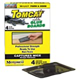 MOTOMCO Tomcat Mouse and Rat Glue Board, 4-Pack