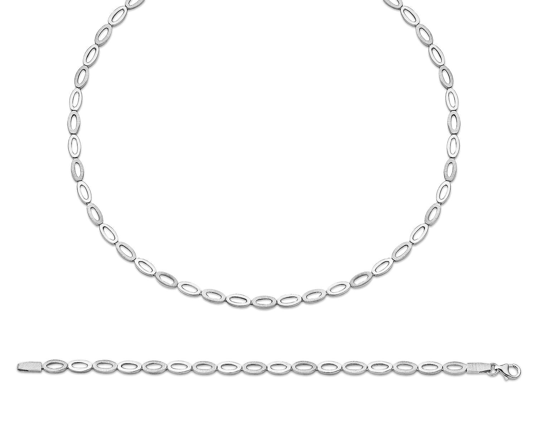 Orphelia Damen-Schmuckset Pure Collection 925 Sterlingsilber Kette 43 cm Armband 19 cm SET-031 jetzt bestellen