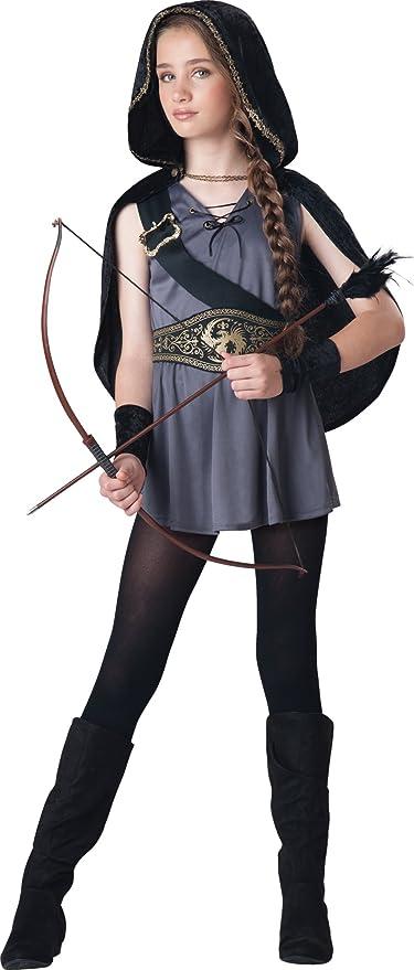 InCharacter Costumes Tween Kids Hooded Huntress Costume