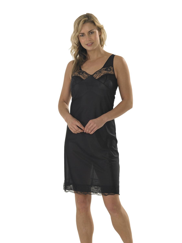 Marlow Damen Unterkleid Bodydress, Spitze an Vorder- und Unterseite, verschiedene Farben und Größen günstig kaufen