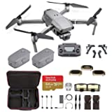DJI Mavic 2 Pro with Hard Professional Case and ND Filters (2Batteries) (Tamaño: 2Batteries)