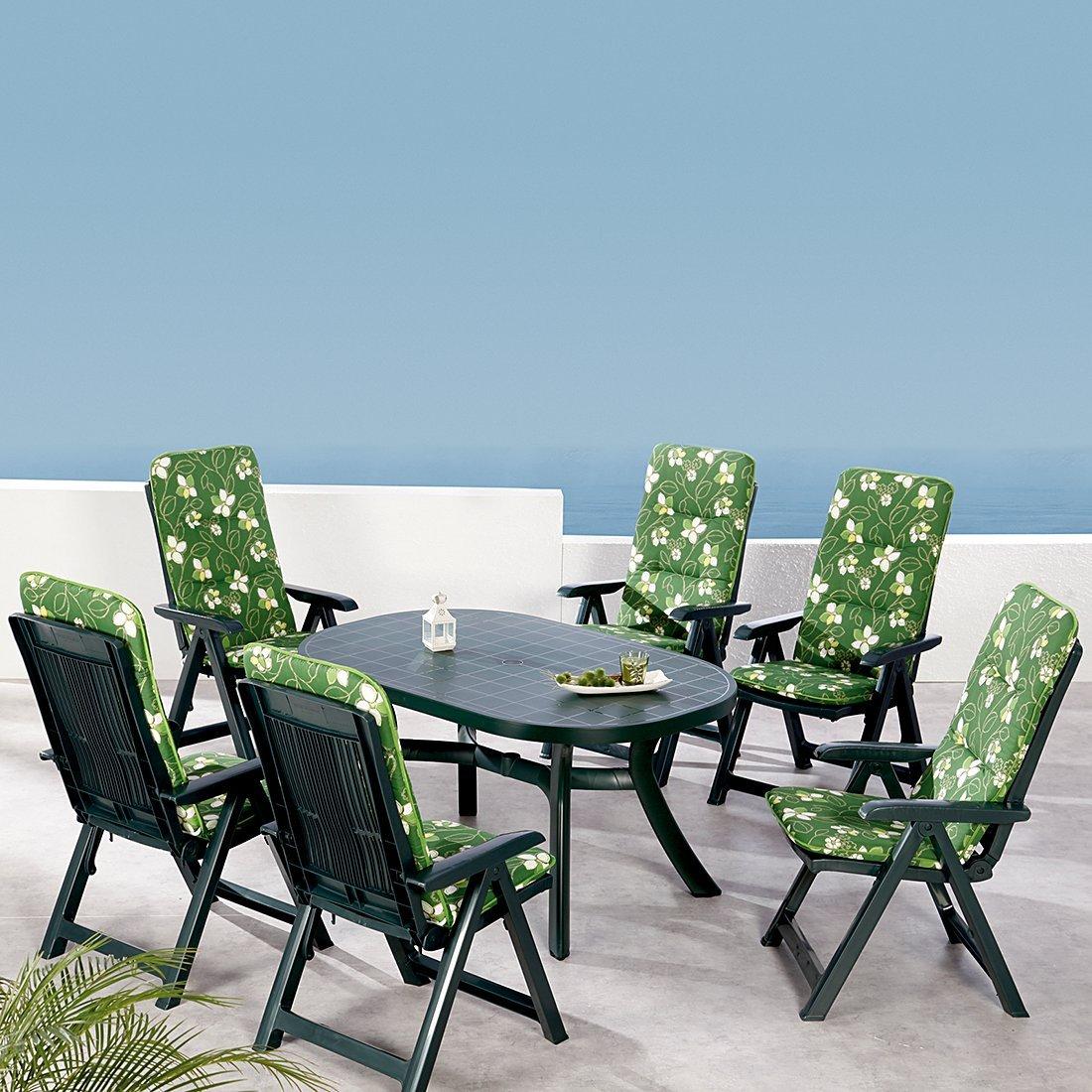 BEST 96236233 13-teilig Komplett Set Santiago, Gartenmöbel, D.1262, grün kaufen