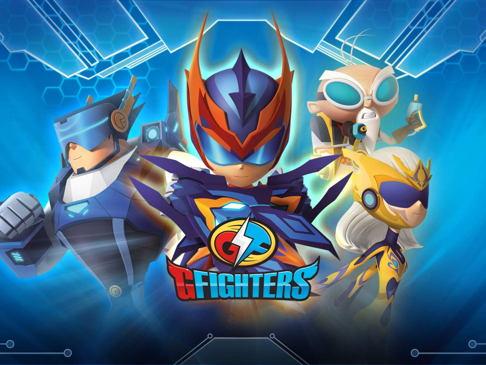 G-fighters on Amazon Prime Video UK