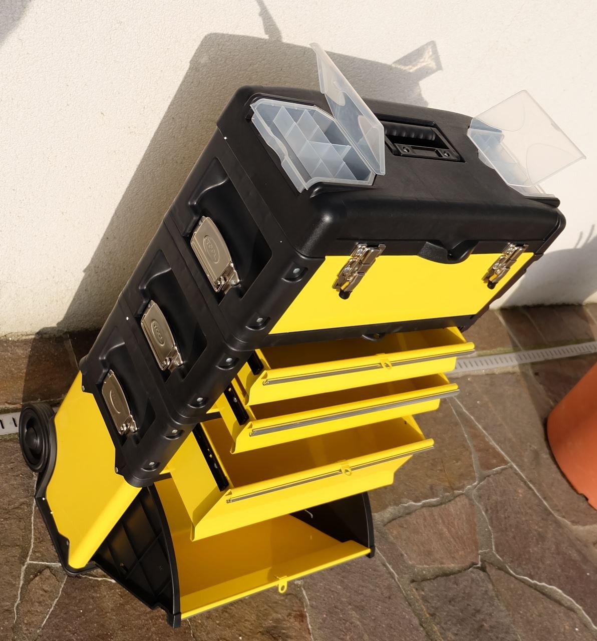 Metall Werkzeugtrolley Werkzeugkasten Werkstattwagen XXL Type B305AD von ASS  BaumarktKundenberichte und weitere Informationen