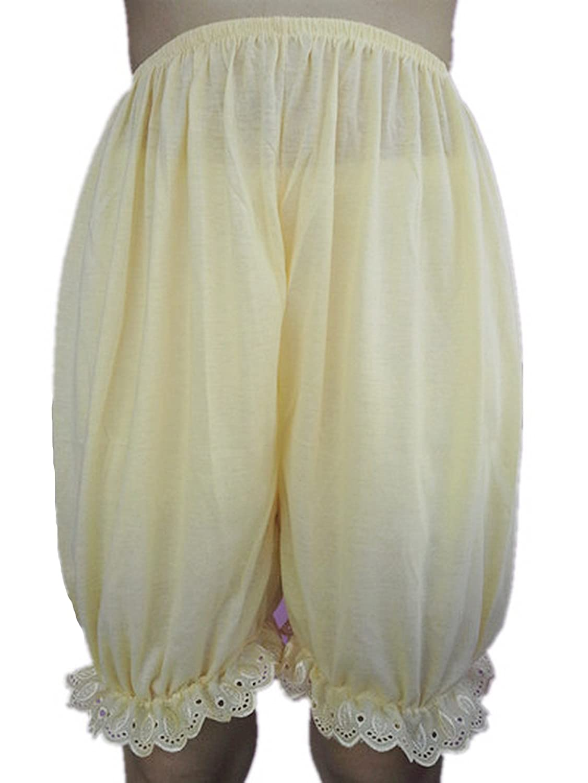 Frauen Handgefertigt Halb Slips UL1CIV IVORY Half Slips Cotton Women Pettipants Lace günstig bestellen