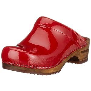 Sanita Classic Patent Open, Chaussons Sneaker Femme   l'examen des produits de plus amples informations