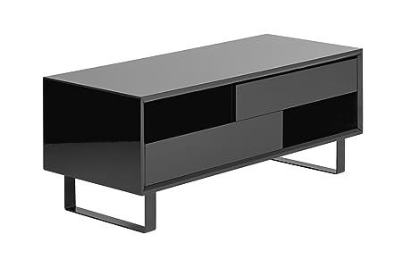 Premier Housewares High Gloss Coffee Table - Black