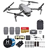 DJI Mavic 2 Pro (Hasselblad Camera) Fly More Combo Deluxe Bundle, 3 Batteries, Charging Hub, Extreme microSDXC Card and More