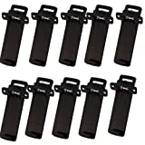 Baofeng UV5R Belt Clip Two-Way Radios Walkie Talkie Belt Clip for Baofeng UV-5R Series 10 Pcs/Set