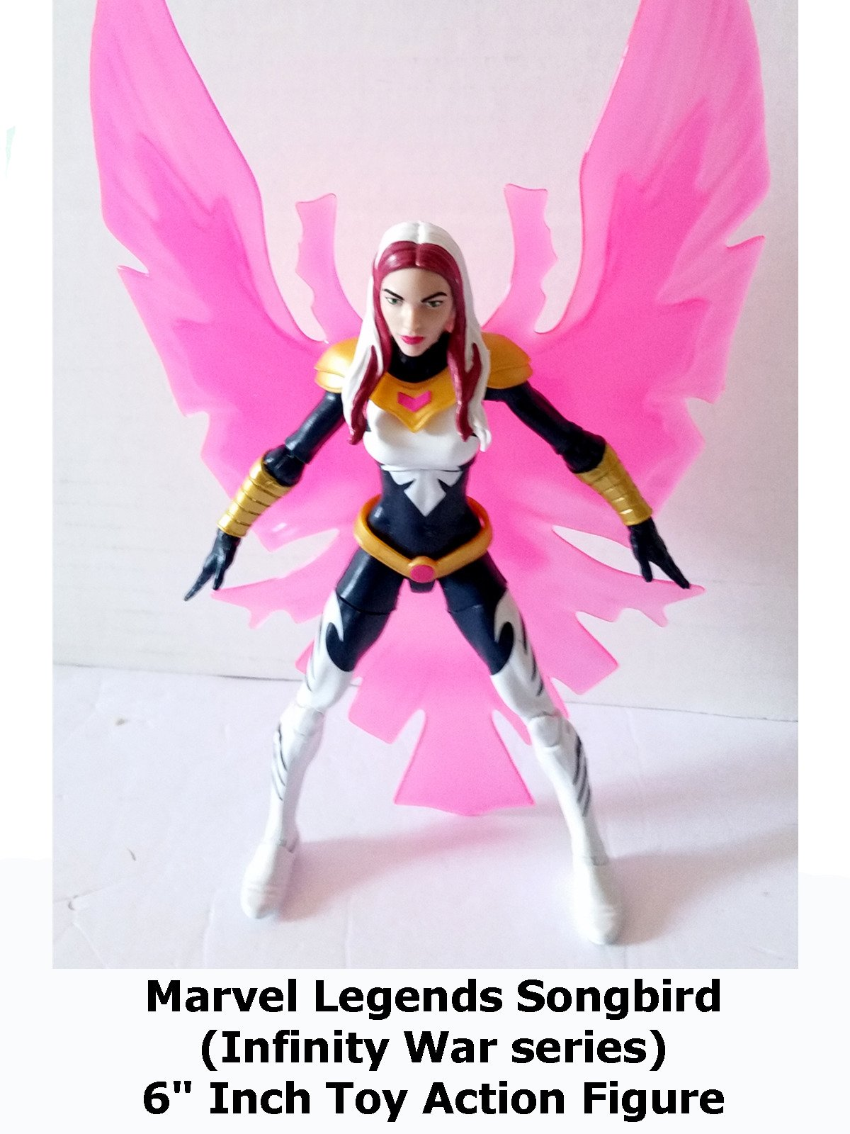 "Review: Marvel Legends Songbird (Infinity War series) 6"" Inch Toy Action Figure"