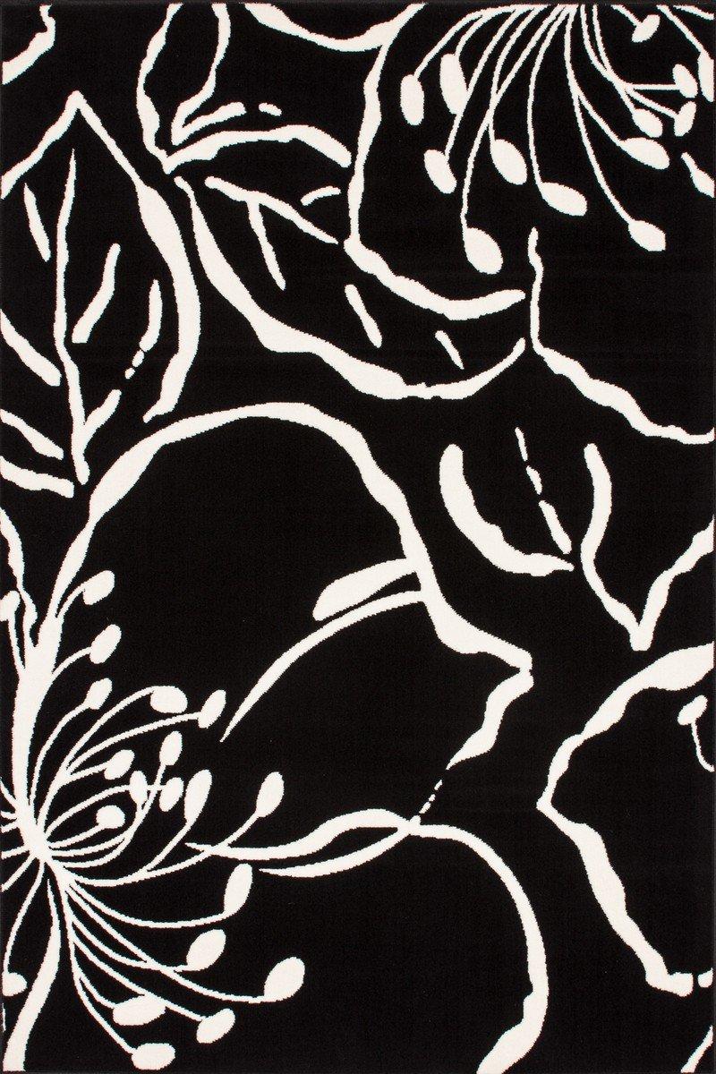 Funky 1656 Schwarz Teppich Teppiche Modern Design, Größe:120cm x 170cm online kaufen
