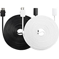 NES Classic Edition Controller 13 ft Extension Cables for Nintendo (Black and White)