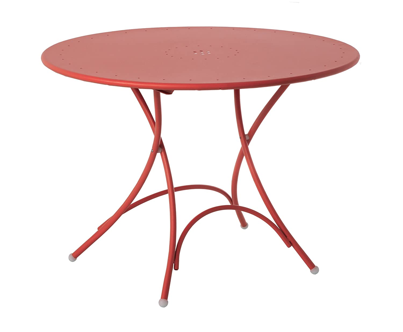 Emu 309044400N Pigalle Klapptisch 904, ø 105 cm, pulverbeschichteter Stahl, rot online kaufen