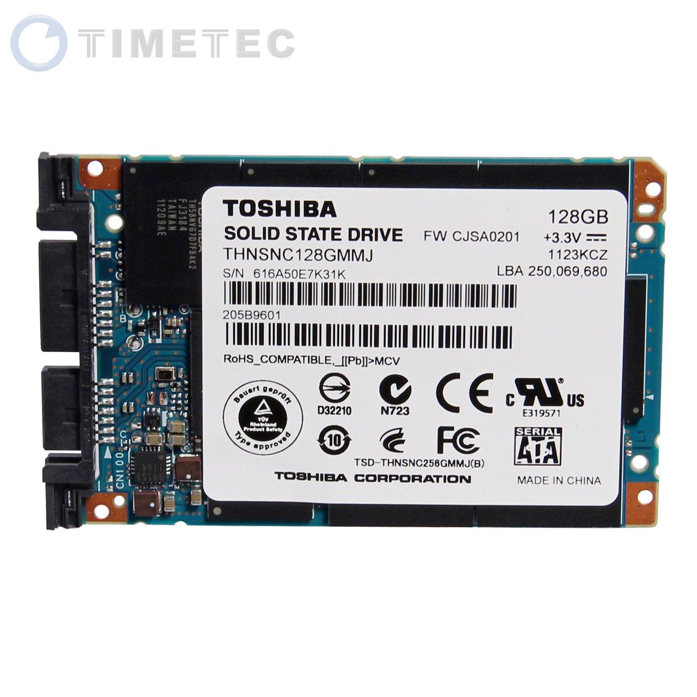 """2012 New Style Original Toshiba 1.8"""" Micro Sata Usata 128gb SSD Solid State Drive Thnsnc128gmmj"""
