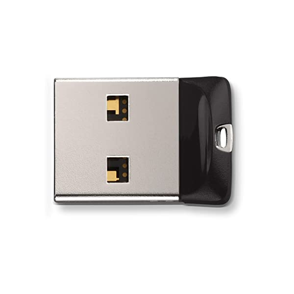 SanDisk 64GB Cruzer Fit USB Flash Drive - SDCZ33-064G-G35 (Tamaño: 64 GB)