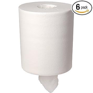 Georgia-Pacific SofPull 28124 White Premium 1-Ply Regular Capacity Centerpull Paper Towel, 15