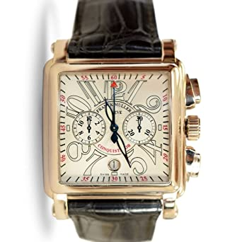 Franck Muller Conquistador Cortez Men's Chronograph Watch