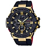 Casio GSTB100TFB-1A Gold Tornado 35th Anniversary G-Shock Men's Watch Black 53.8mm Resin/Gold Ion/Carbon Fiber