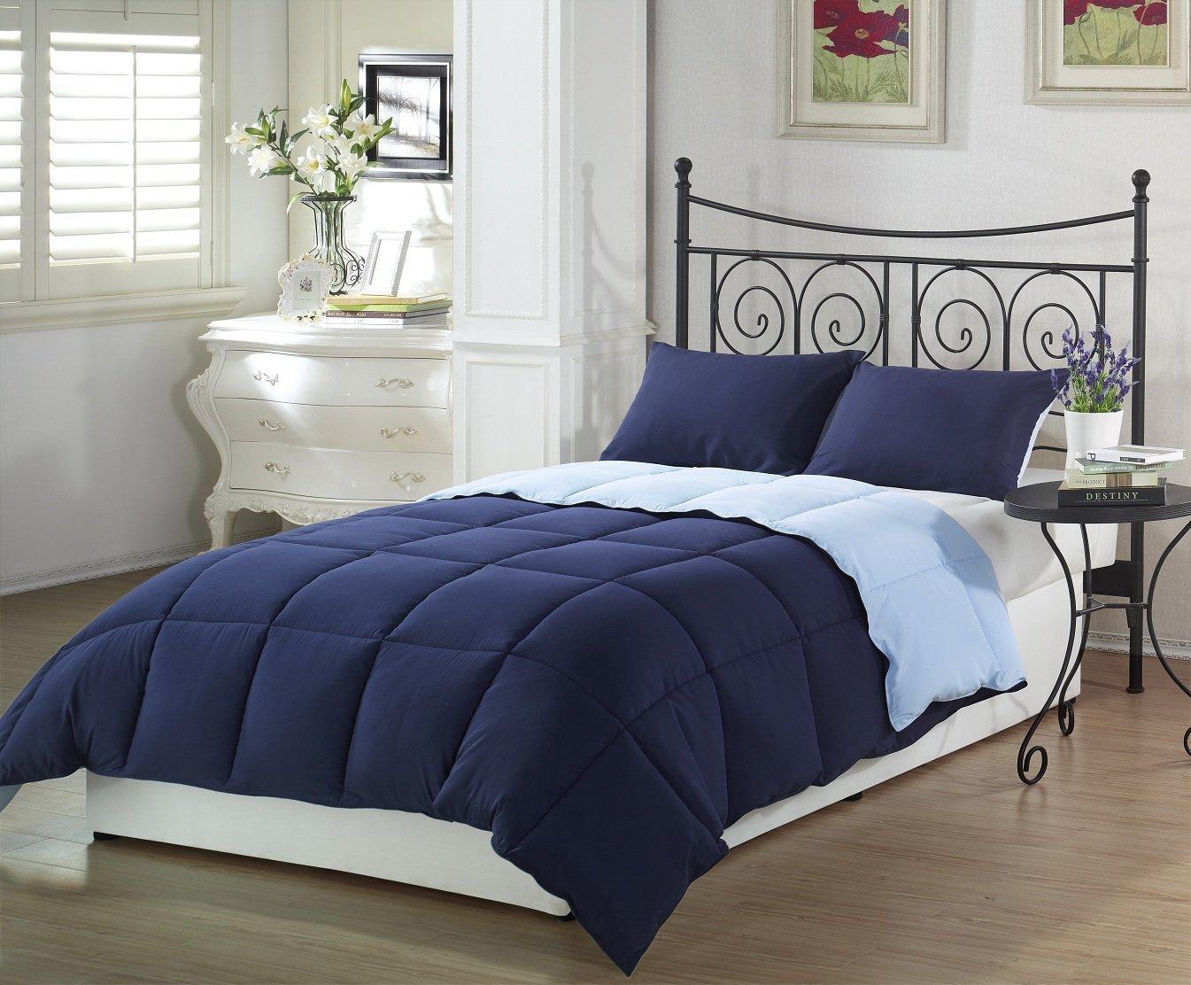 Navy Blue Comforter Sets Fel7 Com