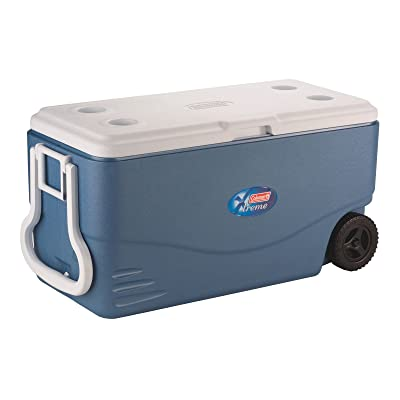 Coleman 100 Quart Xtreme 5 Wheeled Cooler Via Amazon