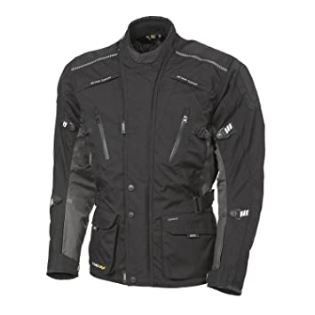 GERMAS lYNX veste-noir/gris-vollausgestattet membrane amovible, veste de randonnée
