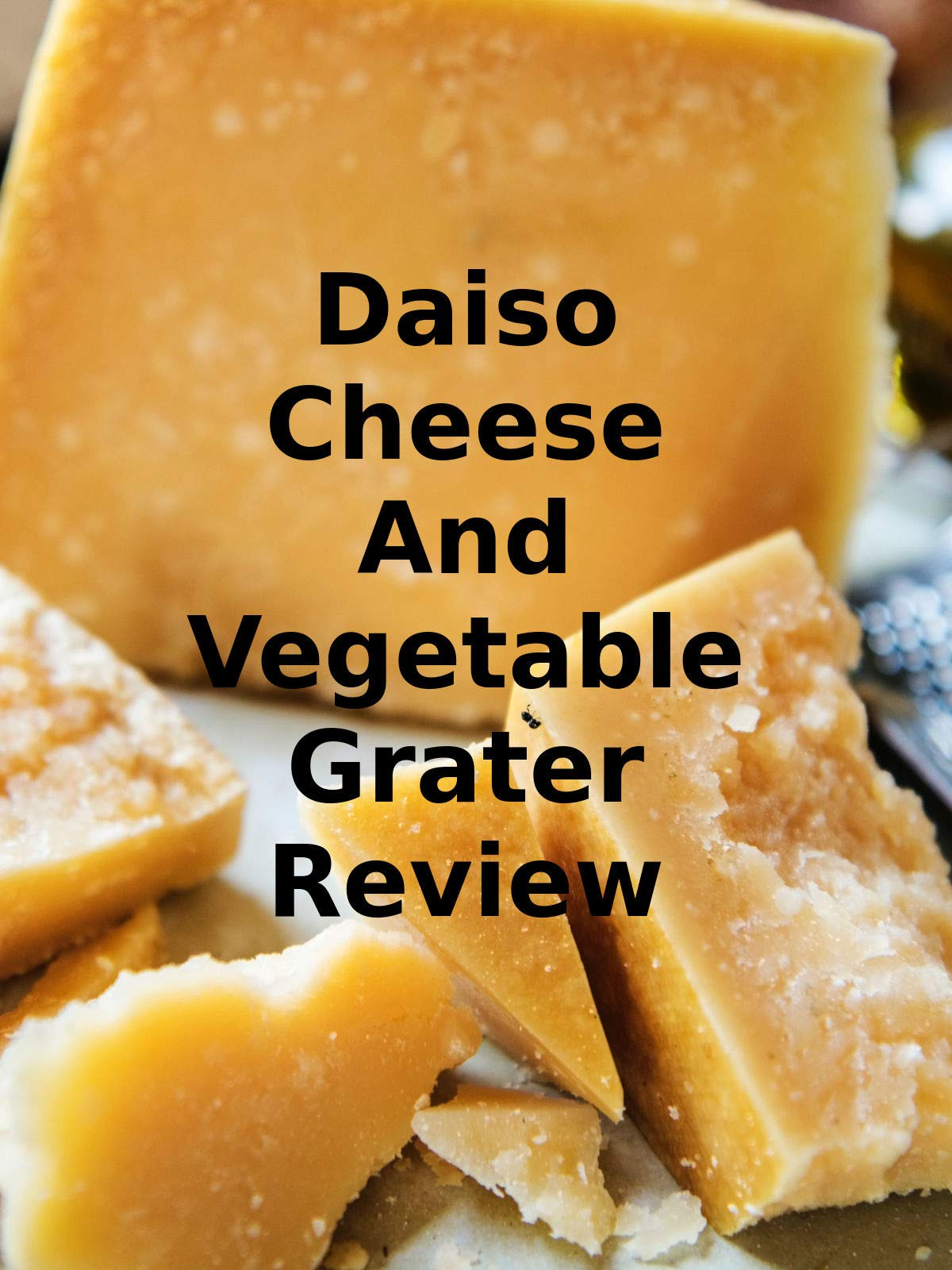 Review: Daiso Cheese And Vegetable Grater Review on Amazon Prime Instant Video UK