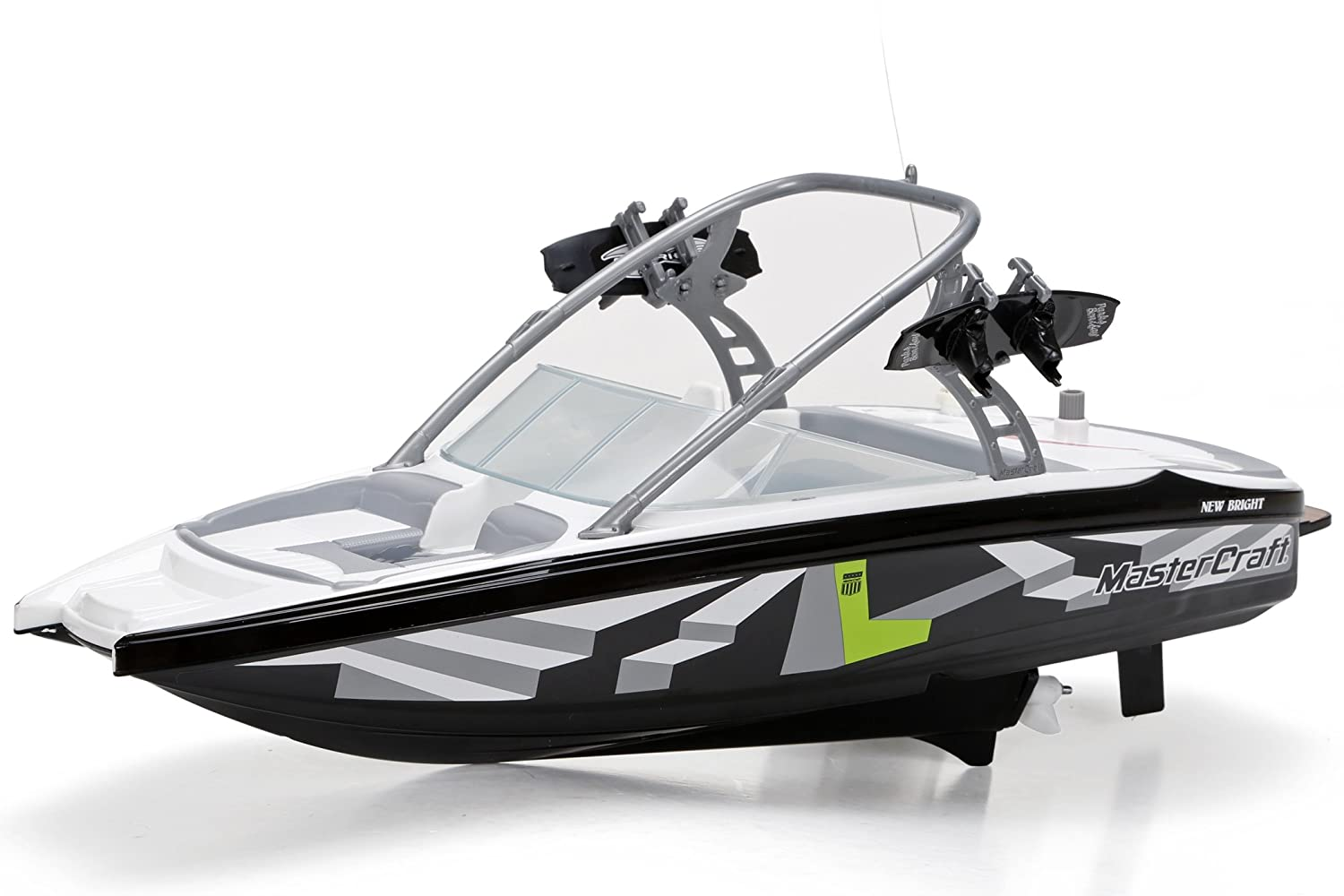 "New Bright 17"" Radio Control Mastercraft Boat (Frequencies may vary)"