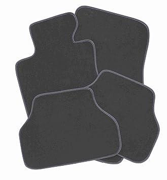 Maßgefertigte Fußmatten für Skoda SuperB II Velours Anthrazit Komplett Set