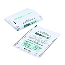 MMF Industries Bio-Natural Tamper-Evident Deposit Bags, 9 x 12 Inches, White, 100 Bags per Pack (236211306)