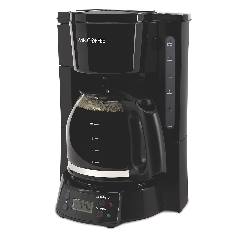 Coffee Maker Without Auto Shut Off : Mr. Coffee BVMC-EVX23 12-Cup Programmable Coffeemaker, Black , New, Free Shippin 72179232018 eBay