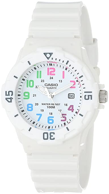 Casio Women's LRW200H-7BVCF Sport White Resin and Plastic Watch