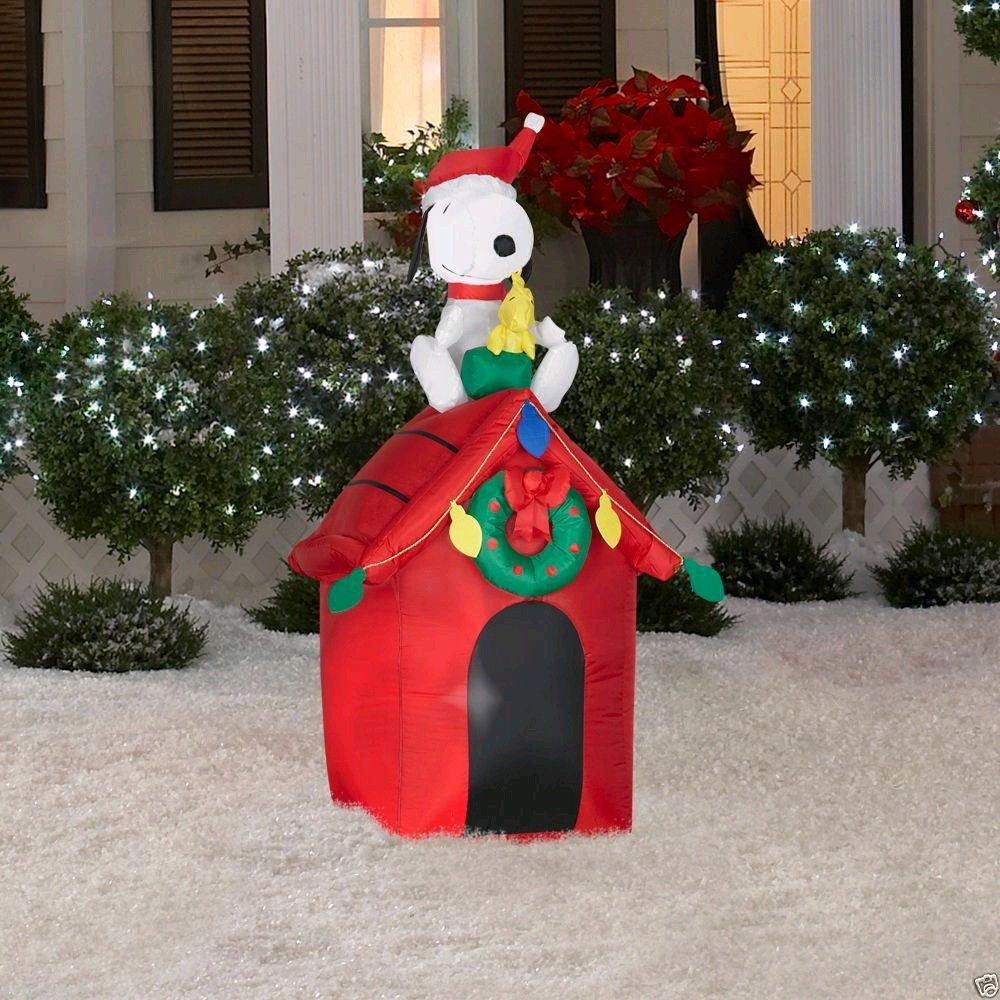 Christmas Peanuts Outdoor Inflatables | Christmas Wikii