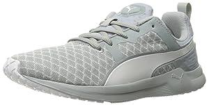 PUMA Women's Pulse Xt Filtered Wns-W Running Sneaker, Quarry/White, 7 B US